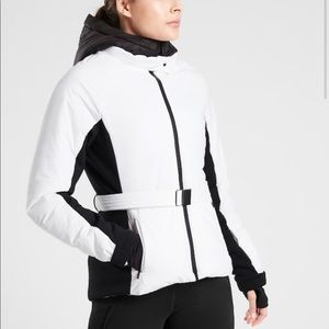 NWT Athleta Grace Peak Jacket, Bright White